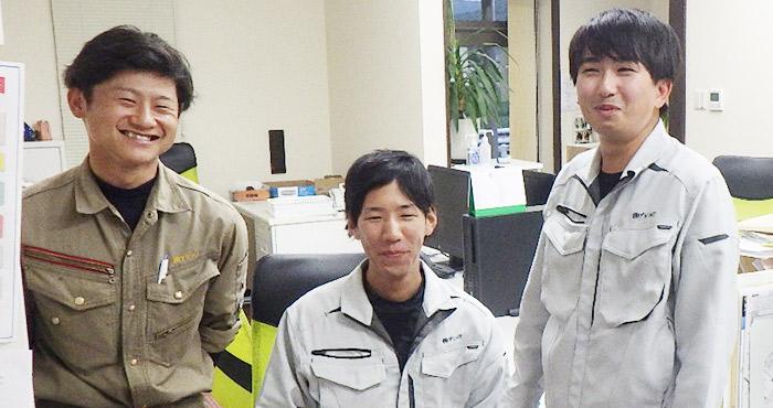 株式会社アシュワ社員の写真